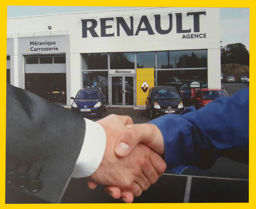 Renault agence